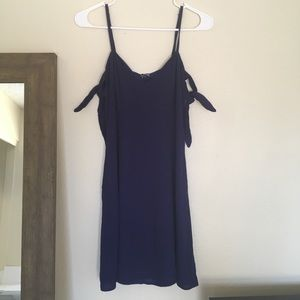 Astr the label Navy mini dress